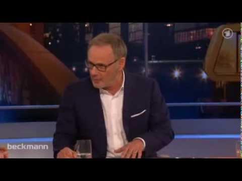 Beckmann - Im Gespräch mit Julie Zeh und Frank Schirrmacher und Sigmar Gabriel