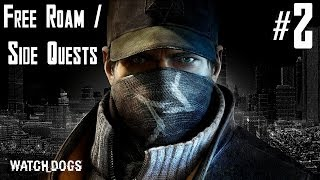Watch Dogs Free Roam / Side Quests Walkthrough Part 2