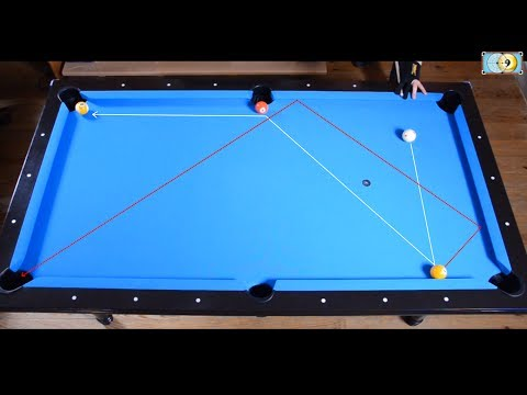Trickshots for beginners #3 - Bilyar - Pool Trick Shot & Artistic Billiard training lesson