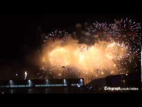 2014 Sochi Winter Olympics fireworks display