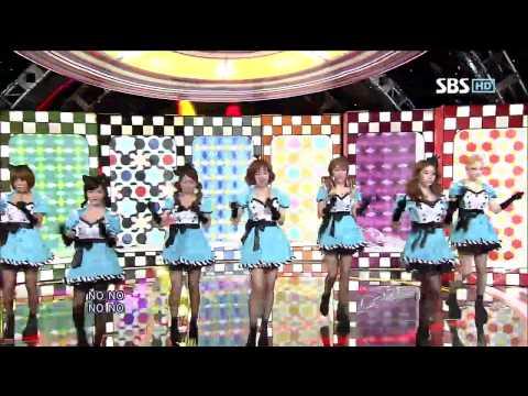 티아라 [Sexy Love] @SBS Inkigayo 인기가요 20120909