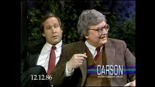 Johnny Carson: Chevy Chase Impersonates Roger Ebert, 1986