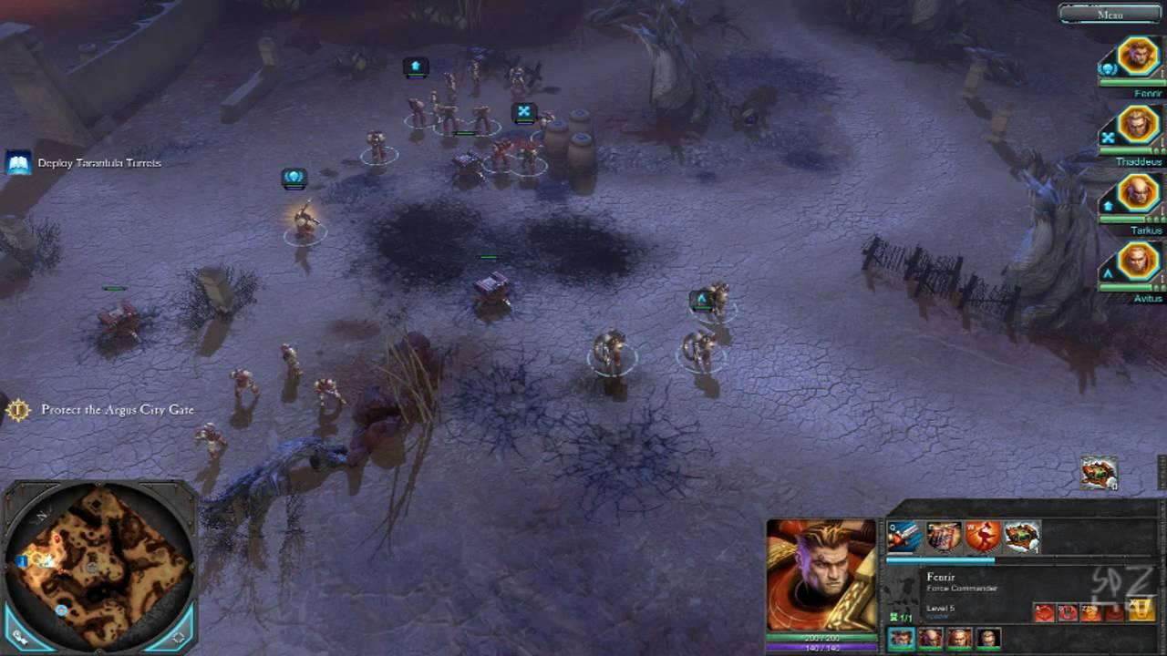 warhammer 40 000 dawn of war ii pc gameplay 1680x1050