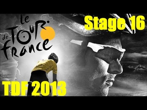 Tour De France 2013 Stage 16 - Ft. Andy Schleck - Need To Beat Contador!!!! (720p HD)