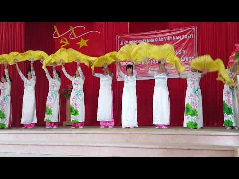 Các cô giáo mầm non xã Xuân Cẩm, Hiệp Hòa, Bắc Giang.