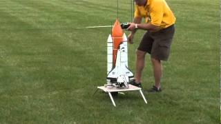 Unsuccessful shuttle launch