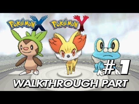 Pokemon X & Y - Walkthrough Part 1