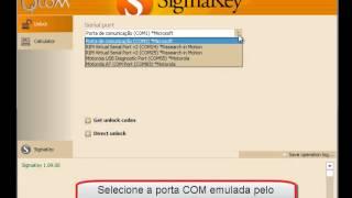 Procedimento De Desbloqueio MOTOROLA QUALCOMM SigmaKey