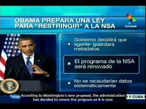 Barack Obama will present reform to NSA massive data collection scheme