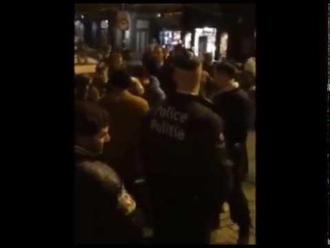 الشرطة البلجيكية تلاحق امرأة منتقبة