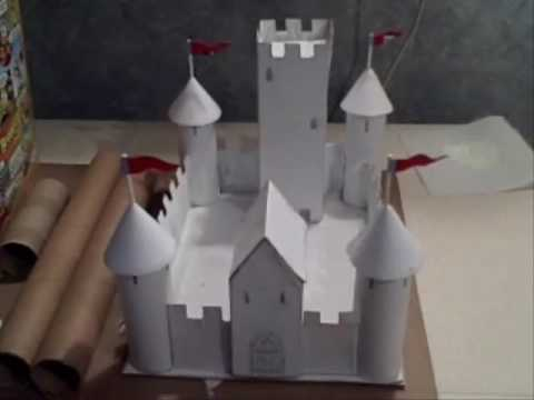 how to build a castle out of cardboard