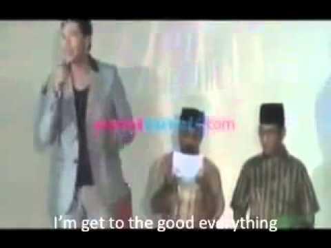 Vicky Prasetyo Eks Zaskia Gotik Berbahasa Intelek (Inggris) di Pemilihan Kades My Name Is Hendrianto I am Froms The Brithdays in Karang asih....hahaha