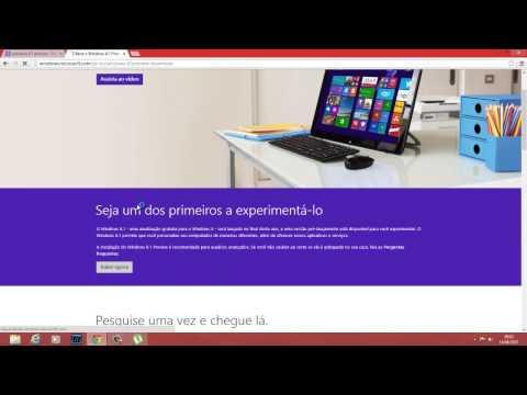 Como Instalar o Windows 8.1 Grátis