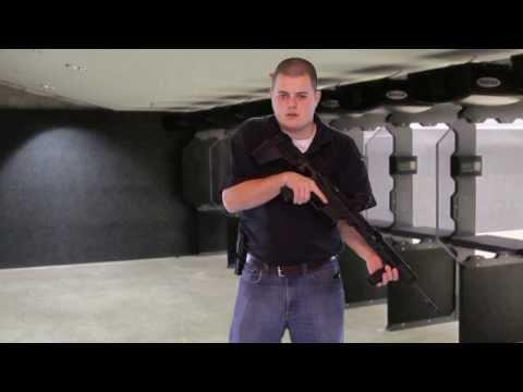 AR Grip vs Handgun Grip - Basic Shooting
