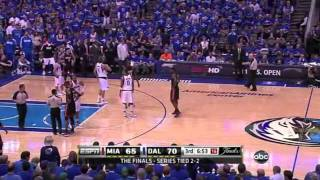 Dirk Nowitzki Rainbow Three Vs Miami Heat (2011
