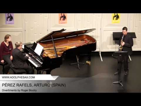 Dinant2014 PE?REZ RAFELS Arturo Divertimento by Roger Boutry