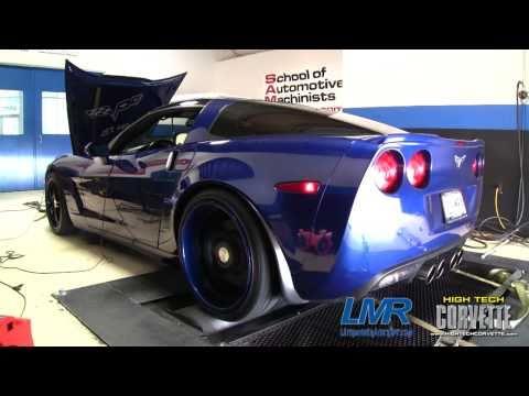 Corvette with a 440ci motor - 750hp