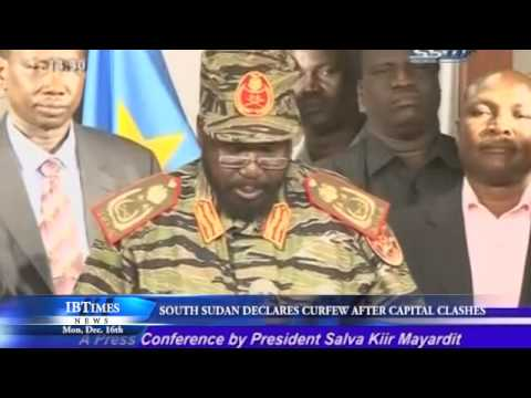 S.Sudan Declares Curfew After Capital Clashes