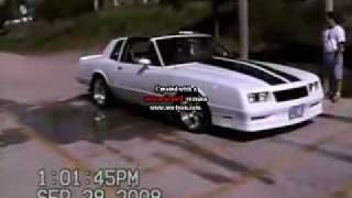 Monte Carlo SS And Chevelle SS Burnouts