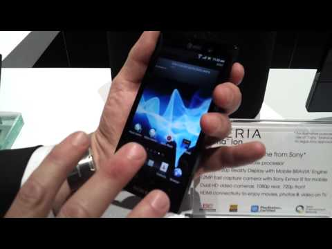 CES 2012: Sony Xperia Ion Hands-On