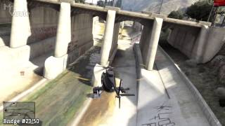 GTA V All 50 Under The Bridge Challenges ('Close Shave