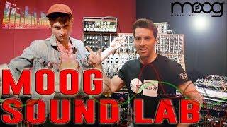 Moog Sound Lab w/ LOOK MUM NO COMPUTER - Sam Battle