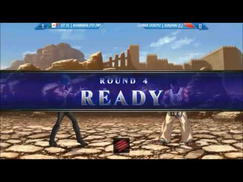 EVO 2015 KOF XIII Grand Final Khanibalilo VS Xiao Hai - The King of fighters