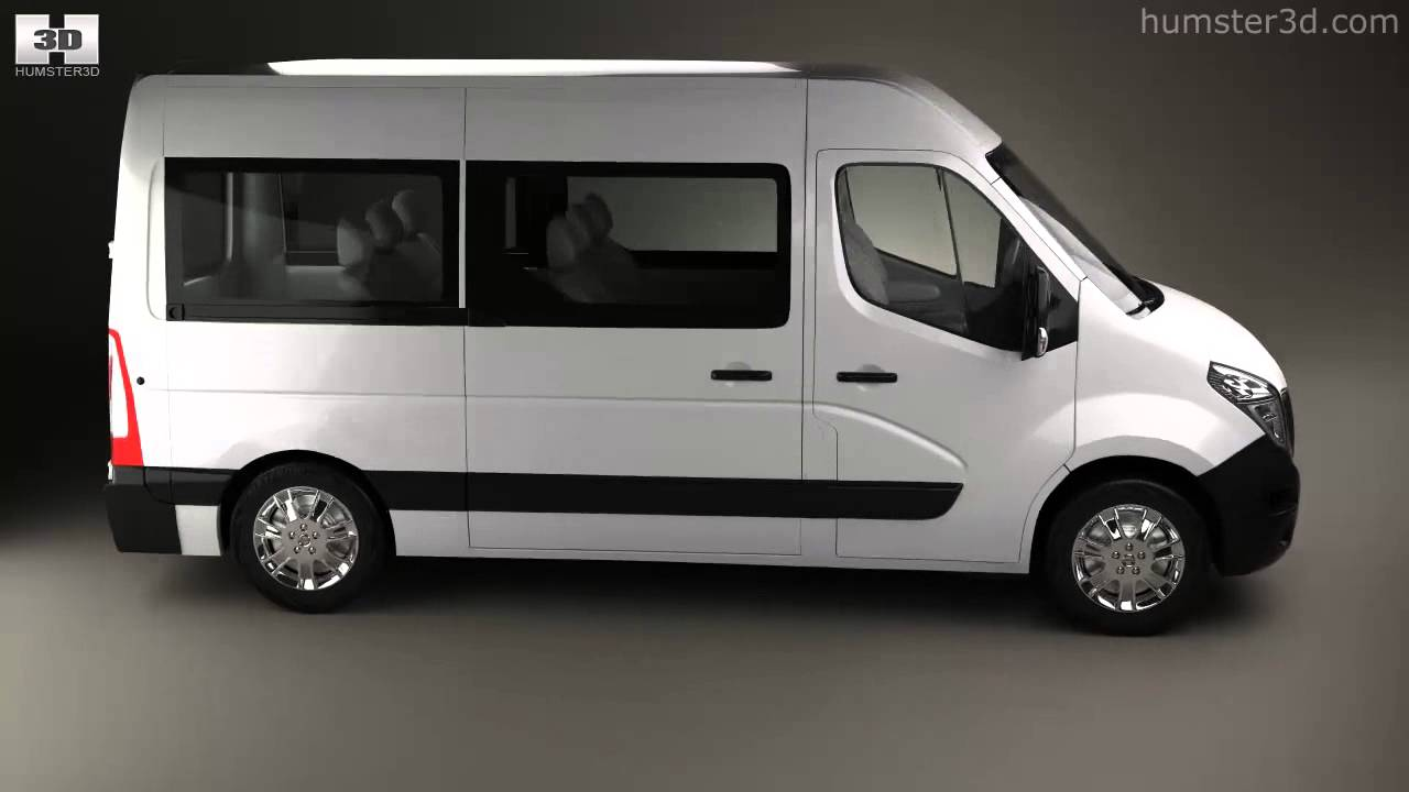 nissan nv400 passenger van 2010 by 3d model store youtube