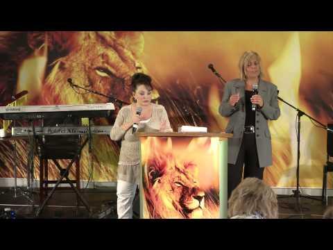 K2013 #5 Sharon Stone - Forvandlet av Guds Herlighet