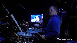 Echa Soemantri - Ayu - Blues Suede Shoes (Elvis Presley) Indonesian Idol 2018 #ESdrumcam