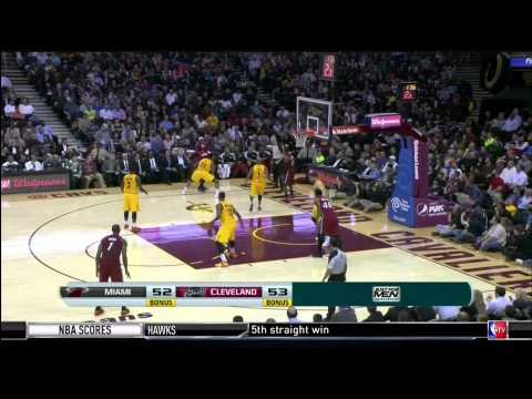 March 18, 2014 - NBATV - Game 65 Miami Heat @ Cleveland Cavaliers - Win (46-19)(NBA Gametime)
