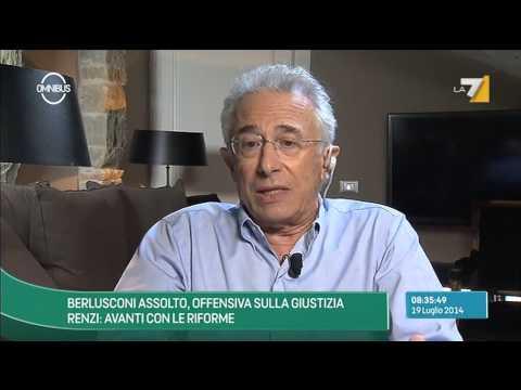 Omnibus - Berlusconi assolto, offensiva sulla giustizia - Puntata 19/07/2014