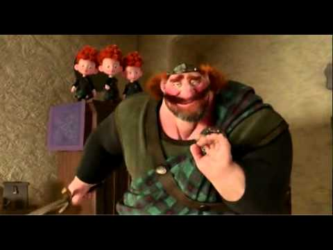 Disney Pixar Brave Cutting Class Featurette