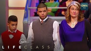 Can a Single Mom Teach Her Son How to Be a Man? - Oprah's Lifeclass - Oprah Winfrey Network view on youtube.com tube online.