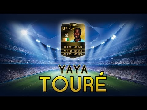 FUT14 | Player Review | Yaya Touré IF (MDC : 87) ! [FR]