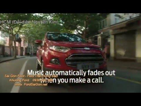 Điều khiển giọng nói trên Ford Ecosport