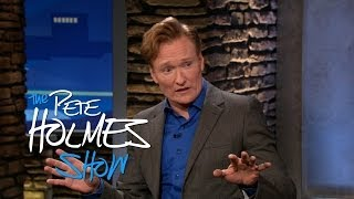 Conan O'Brien Thinks Pete Holmes' Dad is Secretly Peter Griffin
