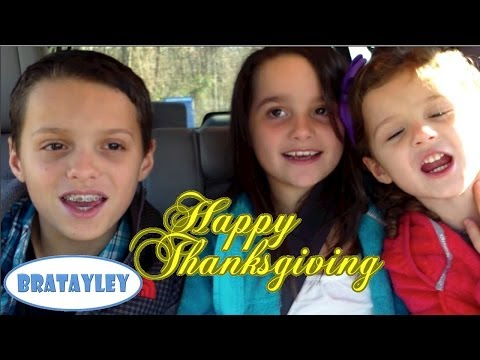 Happy Thanksgiving! (WK 151.2) | Bratayley