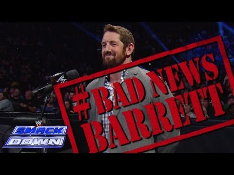 Bad News Barrett ruins Tulsa's day: SmackDown, Dec. 6, 2013