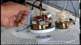 Reparando un ventilador