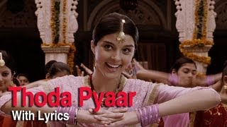 Thoda Thoda Pyar Song With Lyrics - Love Aaj Kal