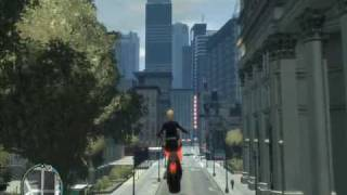 Grand Theft Auto 4 Mod Flying Motorbike