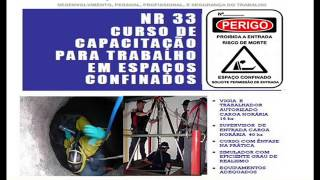 Curso Espa�o Confinado   - youtube