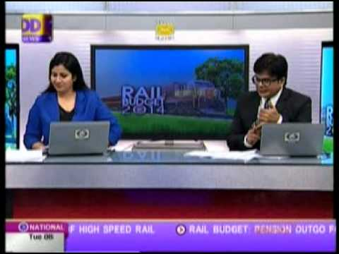 DD News Panel Discussion with Chairman, Railway Board: Rail Budget 2014-15