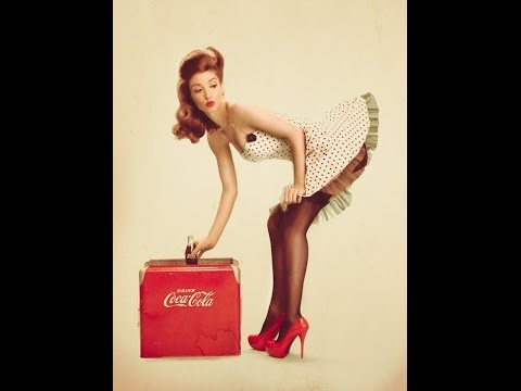 How to Create a Pin Up image in Photoshop (Trailer)