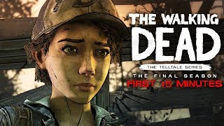 The Walking Dead: The Final Season - Az első 15 perc