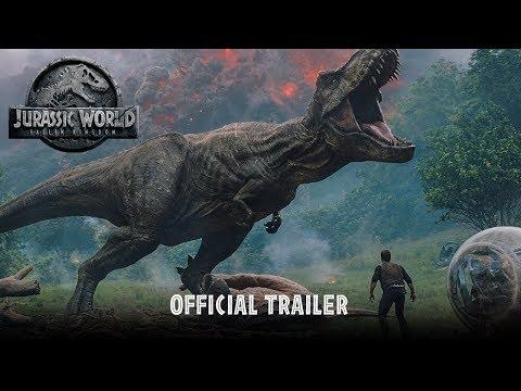 Jurassic World Fallen Kingdom  Official Trailer HD