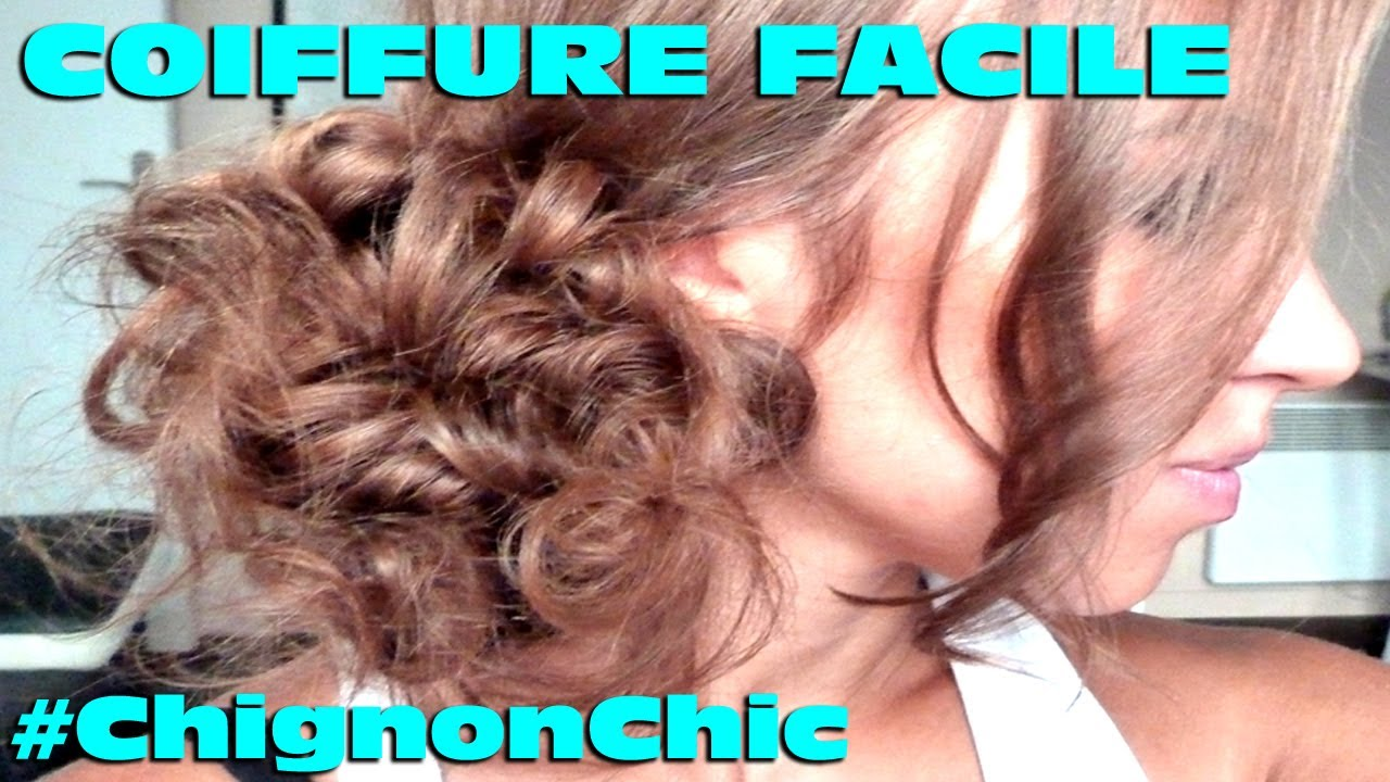 Chignon facile faire soi meme youtube - Creation facile a faire soi meme ...