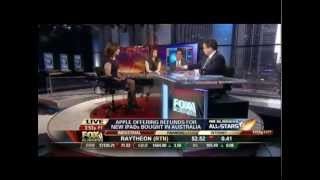 Carol Roth Neil Cavuto on Apple Customer Service Fox Business