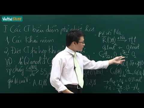 Đại cương về hóa học hữu cơ   phần 1